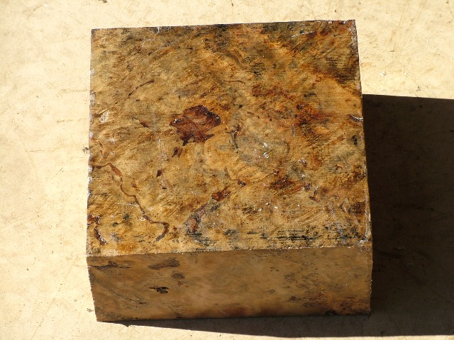 Euc Burl 8 x 8 x 4 (inches)