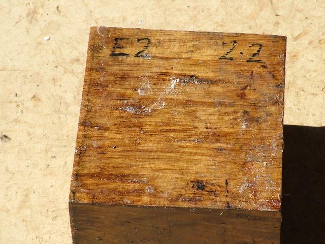 Euc Burl 5 x 5 x 4 (inches)