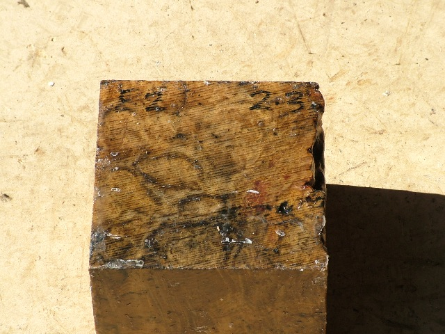 Euc Burl 5 x 5 x 4 (inches)