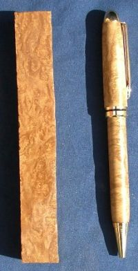 Birdseye Sugargum Burl Pen Blanks