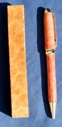 Birseye Wandoo Pen Blanks