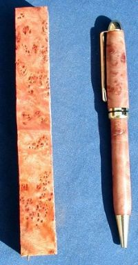 Rose Myrtle Burl Pen Blanks