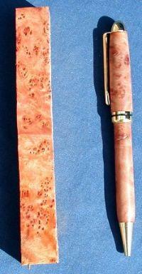 Rose Myrtle Burl Pen Blanks