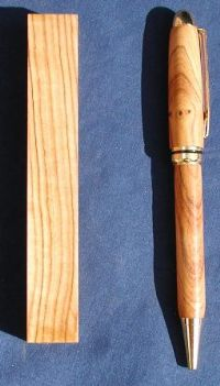 African Wild Olivewood Pen Blanks