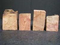 Redwood Burl Wine Stopper Blanks