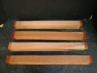 Figured Jarrah Cue Blanks