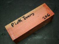 Pink Ivory Blanks